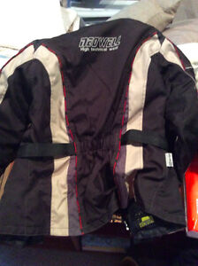 Women's Motocycle Jacket and Boots