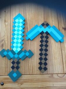 MineCraft Axe and Pick Kitchener / Waterloo Kitchener Area image 1