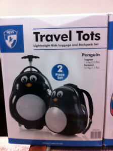 Travel Tots Penguin Luggage