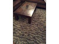 Pebbles effect rug