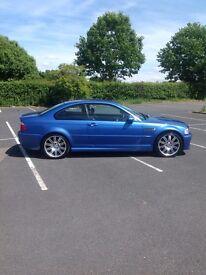 E46 M3 Individual - Rare Estoril Blue