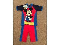 BNWT Mickey Mouse Swimwear 3-4 Years