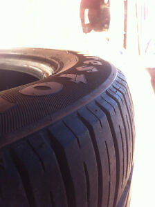 NEW paid $1396 Come get them for $650. 255/55R19 firestone today