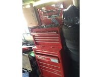 Snap on tool box and tools!