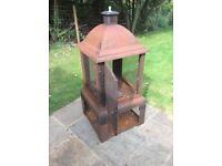 Garden heater / log burner