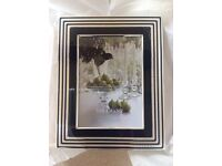 Vera Wang ( Wedgwood ) Luxury Photo frame. Silver plated.