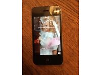 IPhone 4s 64 gb black version excellent condition