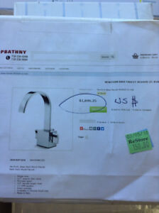 Designer Faucets Brand New!