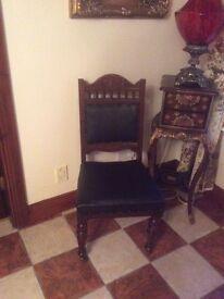 Antique all original good SOLID chair