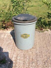 Vintage Elsan portable toilet ideal for vintage caravan / camper ect can post