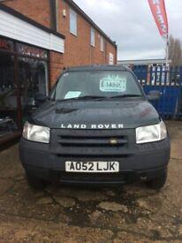 Drive Away Today Land Rover Freelander 1.8 Petrol SWB Van All Major Credit Debit Cards Accepted