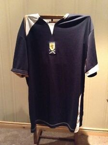 Men's Soccer jersey Team Scotland Size Large