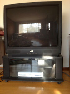 "36"" JVC TV, stand and DVD player Edmonton Edmonton Area image 1"
