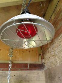 Electric heat lamp