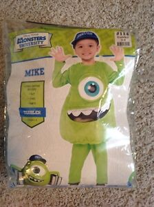 Monster inc -Mike Halloween costume size 3-4 toddler