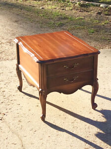 Vintage French Provincial end tables