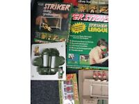 Joblot of football striker games table top