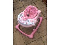 Baby pink graco walker