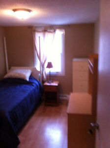 furnished room clean ,chambres meublé propre centre ville Hull