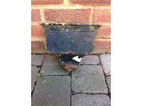 Antique cast iron drain Hopper.