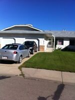 Duplex for rent with front attached garage