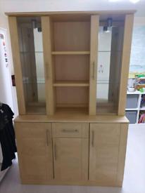 Free display cupboard
