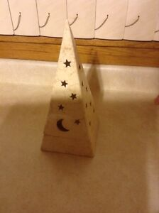 Partylite Stars and Moon Candle Votive Holder
