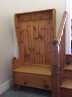 Deacons Bench with Storage