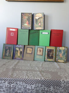 Anne of Green Gables and 12 books by L.M. Montgomery