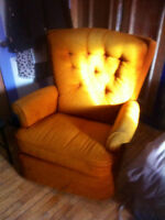 Fauteuil inclinable qui se balanse
