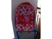 Peppa pig suitcase/bag