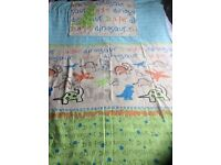 2 x Boys single duvet and pillow case sets. Dinosaur and pirates.