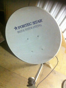 "30"" aluminum Satellite Dish with programmable activator"