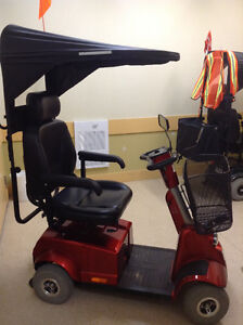 Fortress 1700 DT 4-wheel scooter in excellent condition