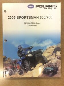 2005 SPORTSMAN 6/700 SHOP MANUAL
