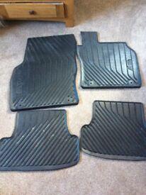 Audi A3 Sportback original rubber mats