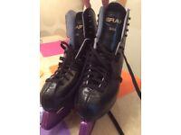 Ice Skates Black Size 37