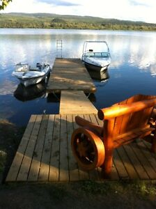 New 8 x 18 Floating Dock