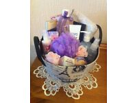 Lovely pamper basket