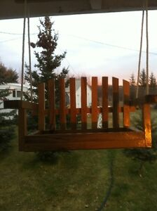 Porch swing bird feeders Strathcona County Edmonton Area image 3