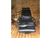 Electric massage heat programmable chair