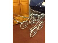 SilverCross Chrome Sprung Chassis - Collapsable ( local delivery)