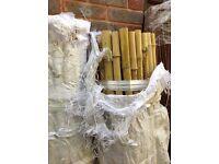 Thick bamboo screening 1.9m long x 1.8m high