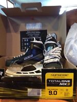 Bauer total one MX3 skates 9.0 D