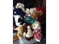Vintage bears. £10 the lot