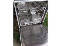 Hygena integrated dishwasher