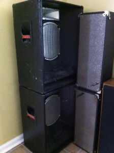 Vintage Cerwin Vega and Marsland Speakers