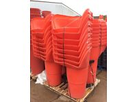 Scaffolding Round Rubbish / Rubble chutes 1metre with chains