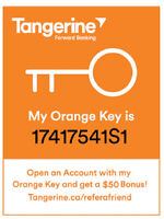 $3,250 TANGERINE ORANGE KEY: 17417541S1