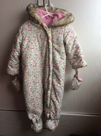 All in one coat 9-12 months excellent condition